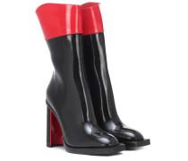 Alexander McQueen Ankle Boots Hybrid aus Leder