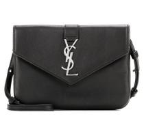 Schultertasche YSL Tri-Pocket aus Leder