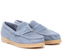 Loafers Bromley aus Lammfell