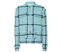 Jacke aus einem Baumwollgemisch