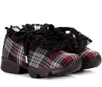 X Shrimps Sneakers Fergus Tartan