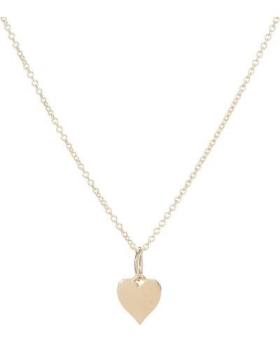 Halskette Tiny Pure Heart aus 14kt Gelbgold