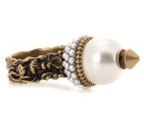 Vergoldeter Ring mit Perle