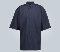 Nadelstreifen-Kurzarmhemd