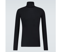 Bestickter Pullover Sous Pull