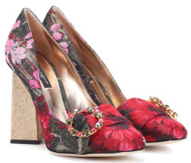 Pumps aus Jacquard