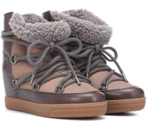 Exklusiv bei Mytheresa – Ankle Boots Nowles aus Leder