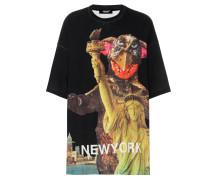 Oversize T-Shirt aus Baumwolle