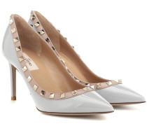 Pumps Rockstud aus Lackleder