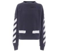 X Champion Sweatshirt mit Print
