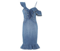 Jeanskleid aus Stretch-Baumwolle