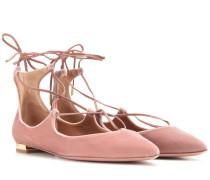 Ballerinas Christy aus Samt