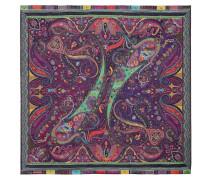 Schal aus Seide und Wolle