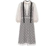 Minikleid Into Lace aus Baumwolle