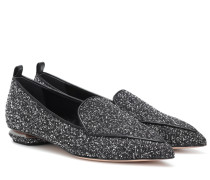 Loafers Beya aus Tweed