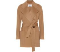 Mantel Anika aus Wolle und Cashmere