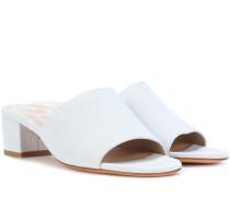 Sandalen Sophie aus Veloursleder