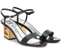 Sandalen Triangle aus Leder
