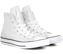 High-Top-Sneakers Chuck Taylor All Star aus Metallic-Leder