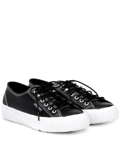 X SUPERGA® Sneakers aus Leder