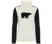 Rollkragenpullover Bear aus Wolle