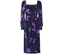 Kleid Adrienne aus Samt