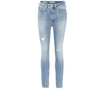Skinny Jeans aus Baumwolle