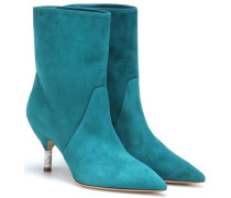 Ankle Boots Mariana aus Veloursleder
