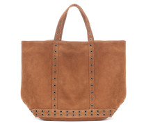 Shopper Cabas Medium aus Veloursleder