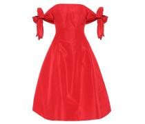 Off-Shoulder-Kleid aus Seide