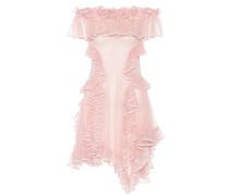 Alexander McQueen Off-Shoulder-Kleid aus Seide
