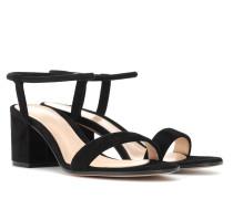 Sandalen Nikki 60 aus Veloursleder