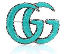 Brosche GG aus Sterlingsilber