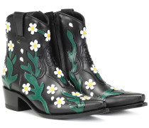 Ankle Boots Ranch Flowers 40