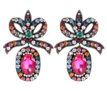 Ohrringe mit Kristall-Stickerei