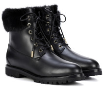 Leder-Boots The Heilbrunner mit Nerz