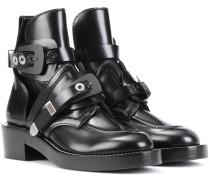 Ankle Boots Ceinture aus Leder