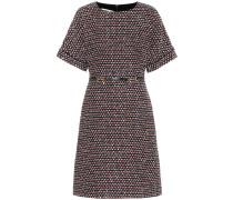 Minikleid aus Tweed mit Pailletten