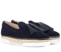 Loafers mit Bastsohle