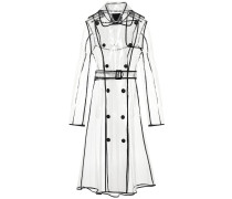 Trenchcoat Transparent Veil