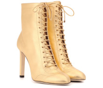 Ankle Boots Daize 100 aus Metallic-Leder