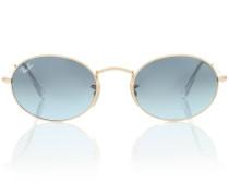 Ovale Sonnenbrille