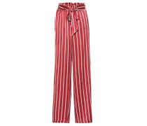 Gestreifte Pyjama-Hose aus Seide