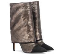 Ankle Boots Babette mit Glitter