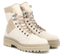 Ankle Boots Jared aus Canvas