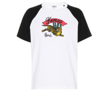 Bedrucktes T-Shirt Bamboo Tiger