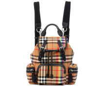 Rucksack Small Rainbow Check