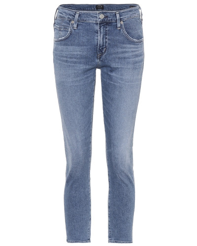 Slim-Fit Cropped Jeans Elsa
