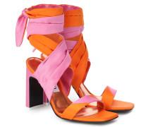 Sandalen Paris aus Satin