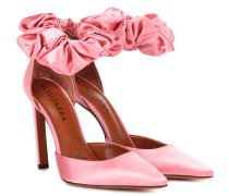 Pumps George aus Satin